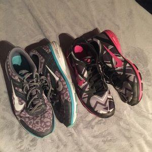 Women's Nike Dual Fusion Trainers Size 9.5 - EUC